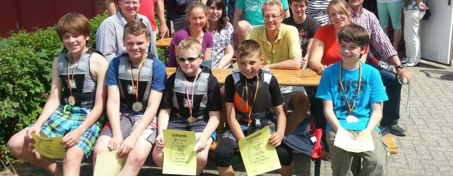 Sieger 2. Vereinsregatta 2014